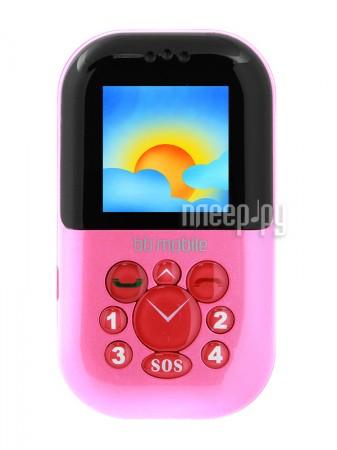 Сотовый телефон BB-mobile Жучок Pink  Pleer.ru  1952.000