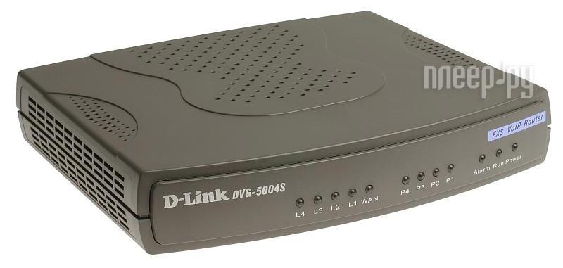 Голосовой шлюз D-Link DVG-5004S  Pleer.ru  5634.000