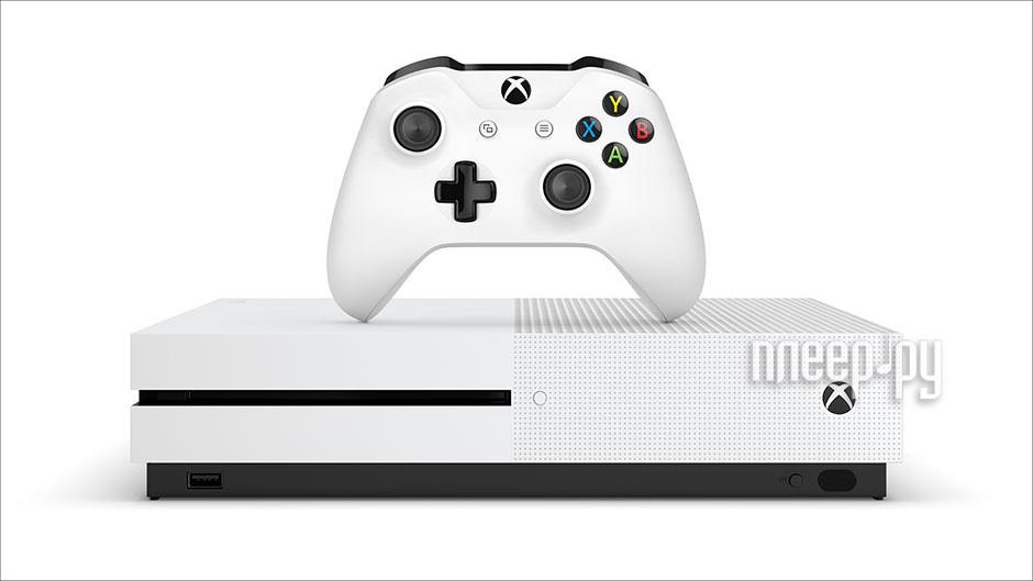 Игровая приставка Microsoft XBOX One S 1Tb + Gears of War 4 + 3m XBL Gold 234-00013-1