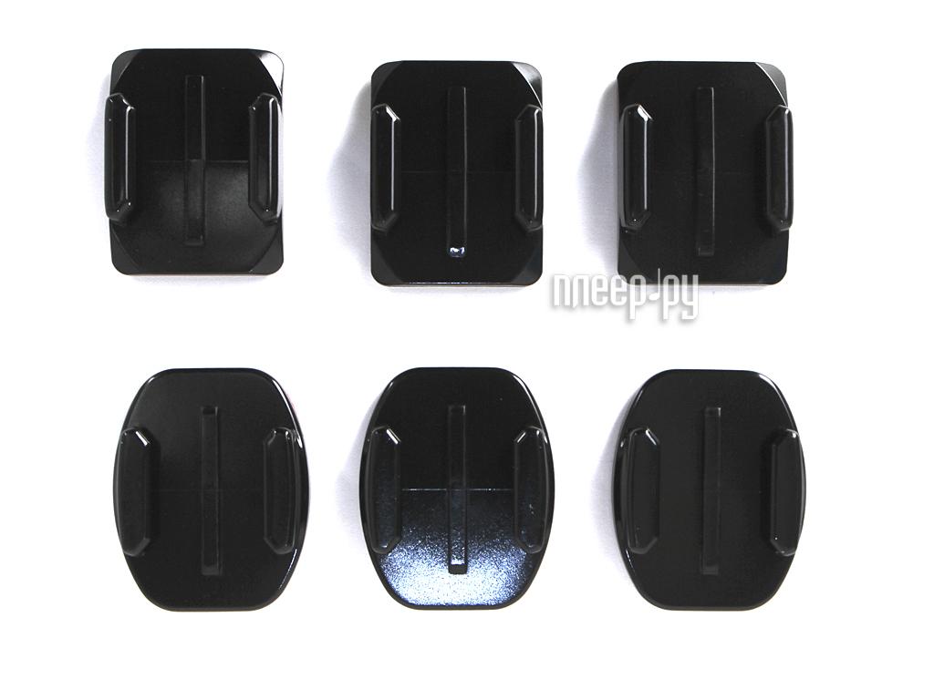 Аксессуар GoPro Flat + Curved Adhesive Mounts AACFT-001 за 1102 рублей