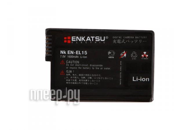 Аккумулятор Enkatsu NK EN-EL15  Pleer.ru  1502.000