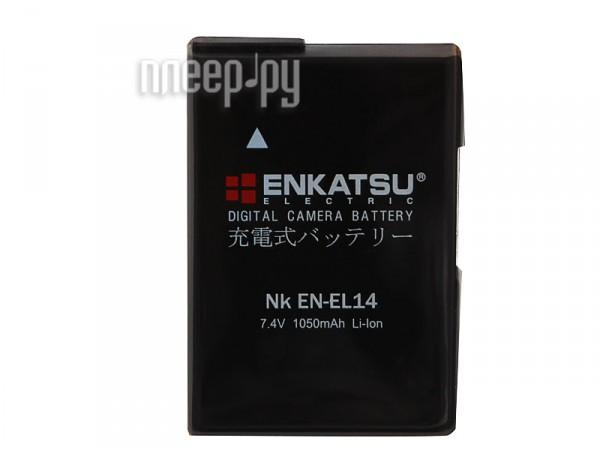 Аккумулятор Enkatsu NK EN-EL14  Pleer.ru  1410.000