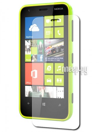 Аксессуар Защитная пленка Nokia 620 Lumia Ainy / Media Gadget Premium глянцевая  Pleer.ru  94.000