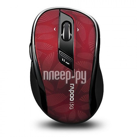 Мышь беспроводная Rapoo 7100P Red USB  Pleer.ru  600.000