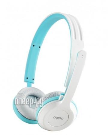 Гарнитура Rapoo H8030 Blue  Pleer.ru  2102.000
