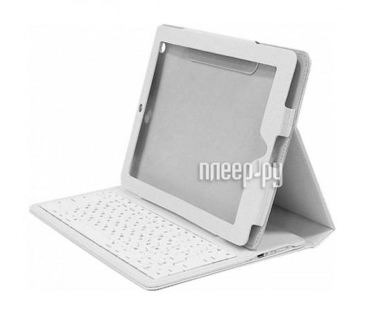 Аксессуар Чехол с клавиатурой Bluetooth Samsung Galaxy Tab 2 10.1 P5100 Viva VAP-AK00S03-w White купить в...