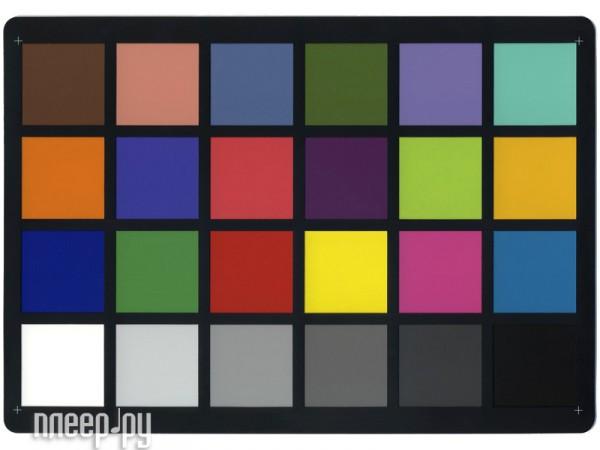 Калибратор X-Rite ColorChecker Classic MSCCC - шкала  Pleer.ru  3123.000