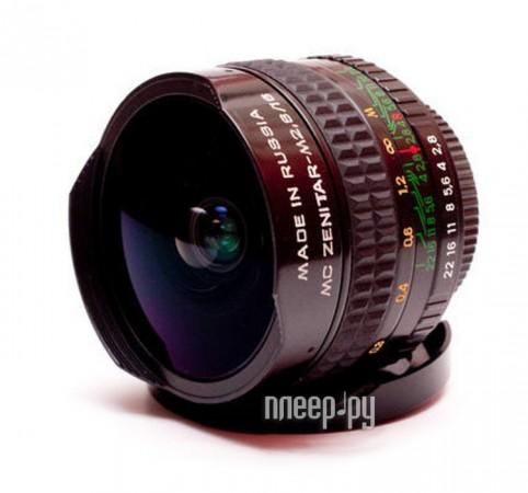 Объектив Зенитар-М 16 mm F2.8 MC Sony A  Pleer.ru  5989.000