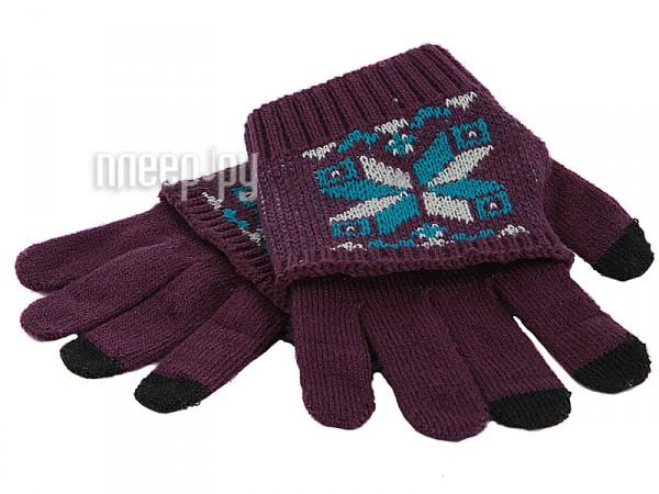 Теплые перчатки для сенсорных дисплеев Harsika 1113 / J101-42.4 Purple