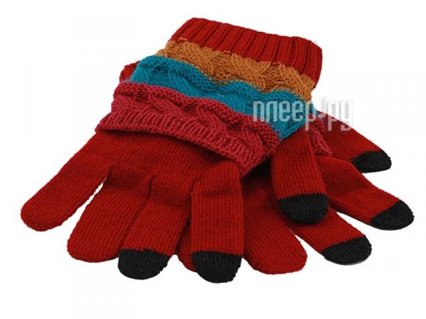 Теплые перчатки Harsika J104-43.1 Red  Pleer.ru  750.000