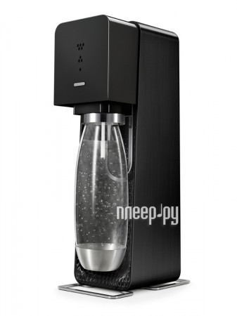 Сифон SodaStream Source Metal Edition Black  Pleer.ru  3154.000