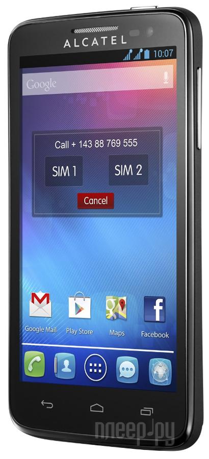 Сотовый телефон Alcatel OneTouch 6070K Idol 4S Gold
