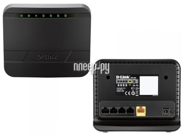 D-Link DIR-300 - купить wi-fi роутер Д-линк по лучшей цене в Плеер.ру.