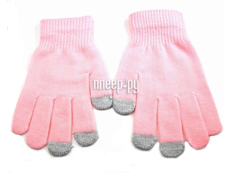 Теплые перчатки для сенсорных дисплеев Liberty Project M Light-Pink