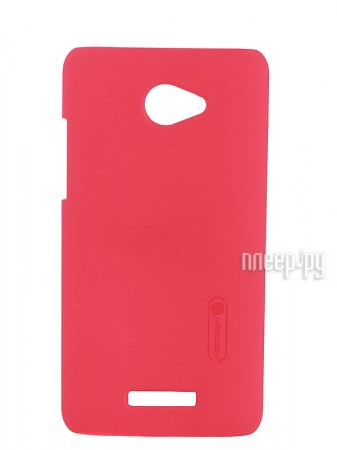 Аксессуар Чехол-накладка HTC Butterfly Nillkin Super Frosted Shield Red