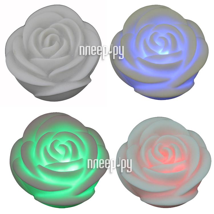 Светодиодная свеча Denpa Роза LL0106R  Pleer.ru  377.000