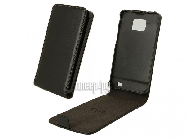 Аксессуар Чехол Samsung i9105 / i9100 Galaxy S II Plus Clever Case UltraSlim Black US107  Pleer.ru  934.000