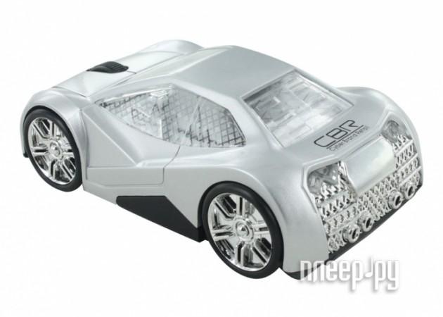 Мышь CBR MF 500 Elegance Silver  Pleer.ru  558.000