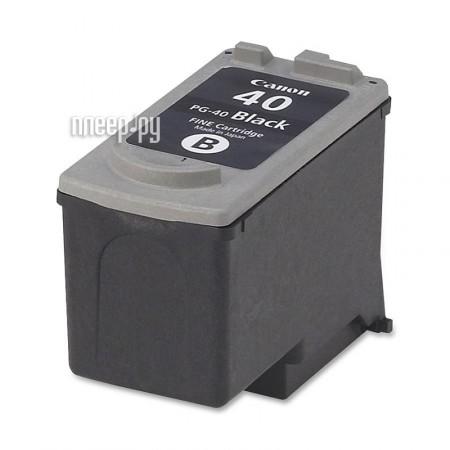 Картридж Canon PG-40 Black для Pixma MP450 / 150 / 170 / iP2200 / 1600 0615B025