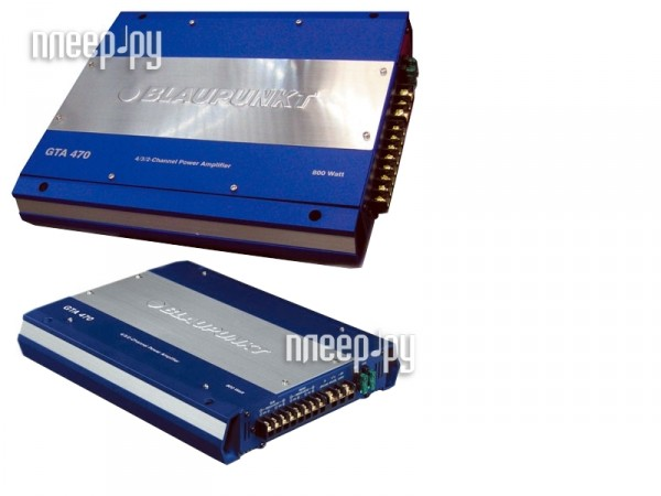Усилитель Blaupunkt GTA-470 Производим тестирование.  Продажа в кредит.