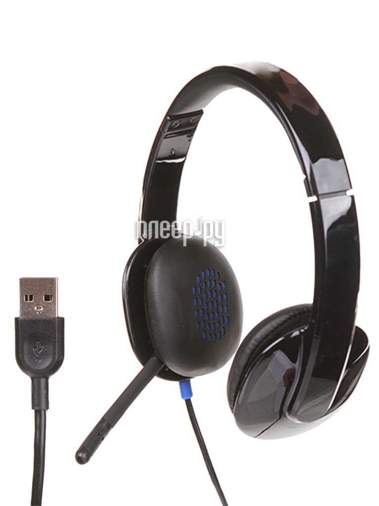 Гарнитура Logitech USB Headset H540 981-000480