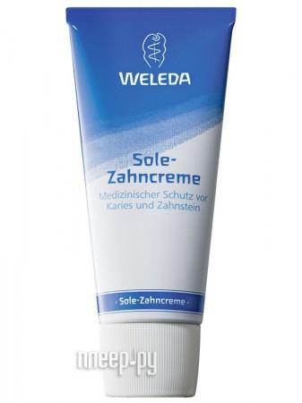 Зубная паста Weleda зольная 75 мл 9809  Pleer.ru  352.000