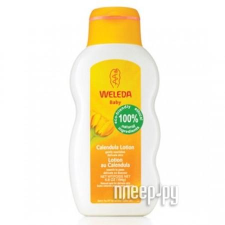 Средство для детей Weleda масло с календулой без запаха 200 мл 8820 / 9656