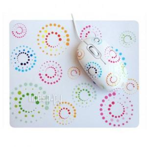 Купить Мышь CBR Rainbow мышь сувенирная + коврик
