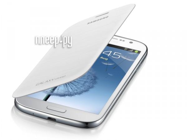Аксессуар Чехол Samsung GT-i9082 Galaxy Grand EF-FI908BWEGRU White  Pleer.ru  1409.000