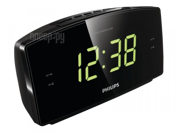 Многофункциональные часы Philips AJ3400/12 радиобудильник  Pleer.ru  698.000