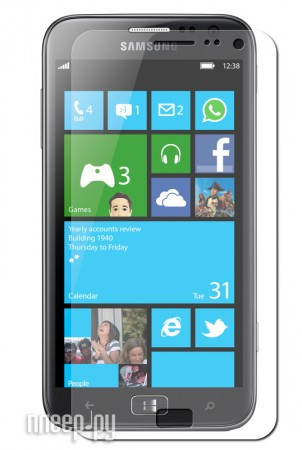 Аксессуар Защитная пленка Samsung GT-i8750 ATIV S Media Gadget Premium  Pleer.ru  94.000