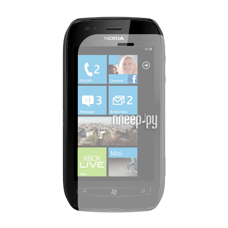 Аксессуар Защитная пленка Nokia Lumia 620 LuxCase антибликовая 80437.