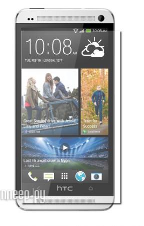 Аксессуар Защитная пленка HTC One Red Line / Media Gadget Premium / Ainy глянцевая
