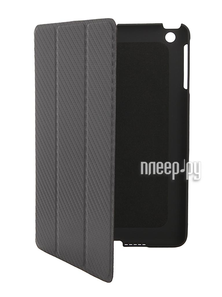 Аксессуар Чехол Cooler Master Wake Up Folio Carbon Texture for iPad mini Black  Pleer.ru  1700.000