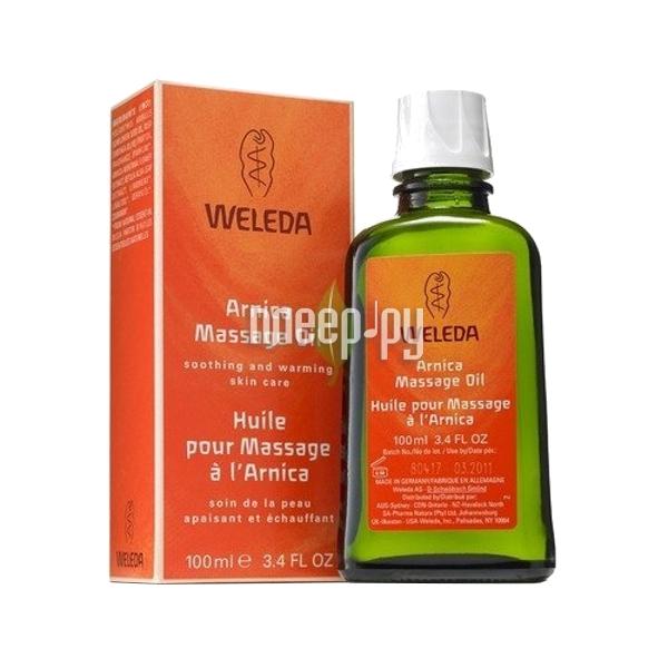Средство Weleda массажное масло с арникой 100 мл 9922  Pleer.ru  444.000