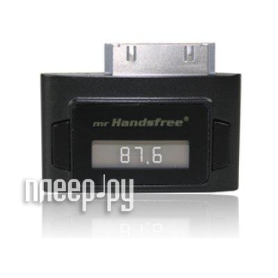 FM-Трансмиттер Mr Handsfree FM101 для iPhone 3GS / iPhone 4 / iPad / iPod Classic / iPod Nano / iPod Touch