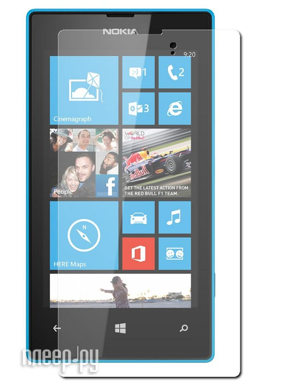 Аксессуар Защитная пленка Nokia 520/525 Lumia Ainy матовая  Pleer.ru  533.000