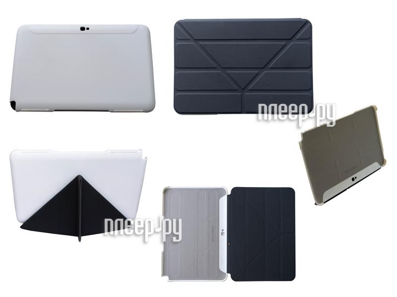 Аксессуар Чехол Galaxy Note 2 10.1 SonicSettore Seoul Slim Black 371022  Pleer.ru  439.000
