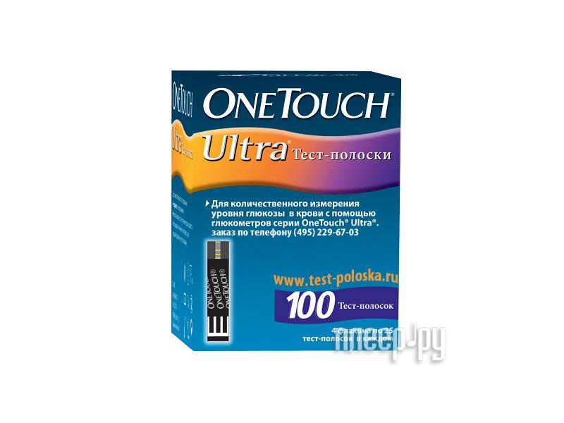 Аксессуар OneTouch Ultra 100шт тест-полоски