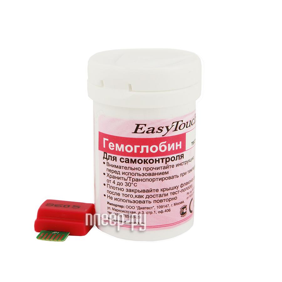 Аксессуар EasyTouch 25шт тест-полоски на гемоглобин