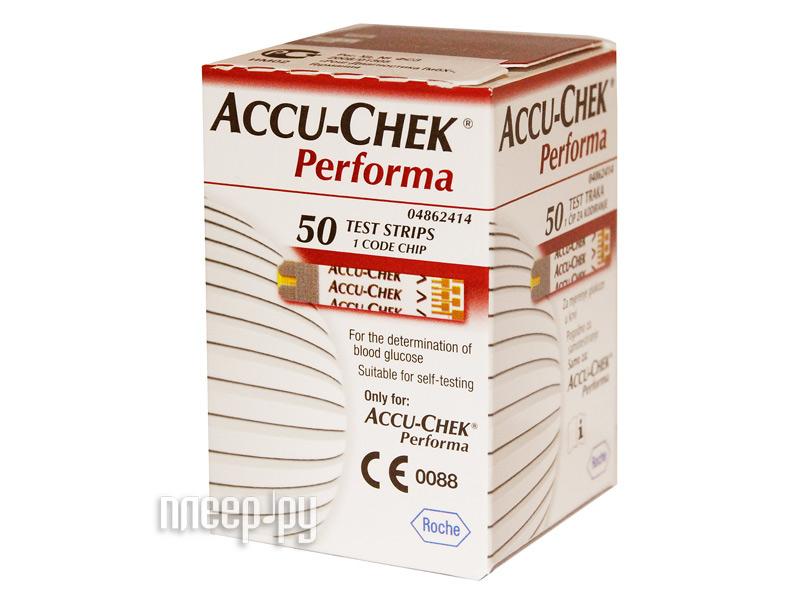 Аксессуар Accu-Chek Performa 50шт тест-полоски  Pleer.ru  687.000