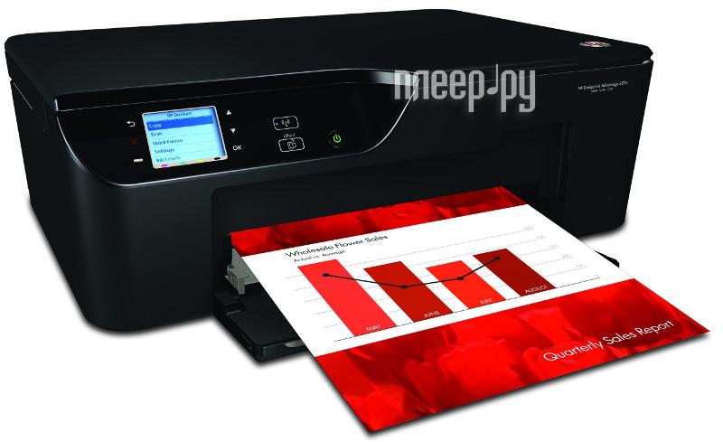 МФУ HP Deskjet Ink Advantage 3525 e-All-in-One CZ275C  Pleer.ru  3526.000
