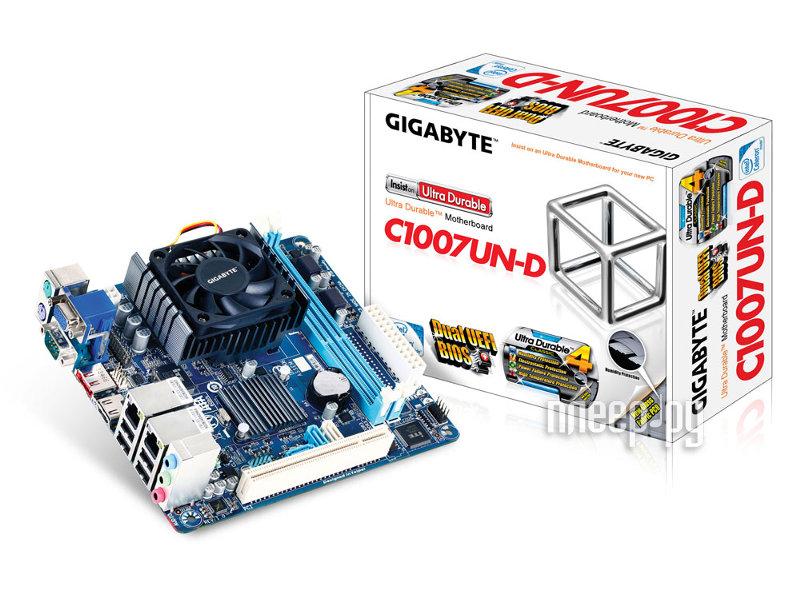 Материнская плата Gigabyte GA-C1007UN-D  Pleer.ru  2872.000