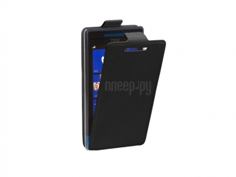 Аксессуар Чехол HTC Windows Phone 8S Untamo Timber UTIMFHTCWP8SBL Black  Pleer.ru  449.000