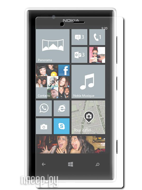 Аксессуар Защитная пленка Nokia Lumia 720 LuxCase антибликовая 80439  Pleer.ru  555.000
