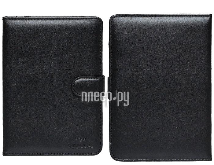 Аксессуар Чехол for Pocketbook 640/626/614/624/623/622 Viva Basic кожаный Black