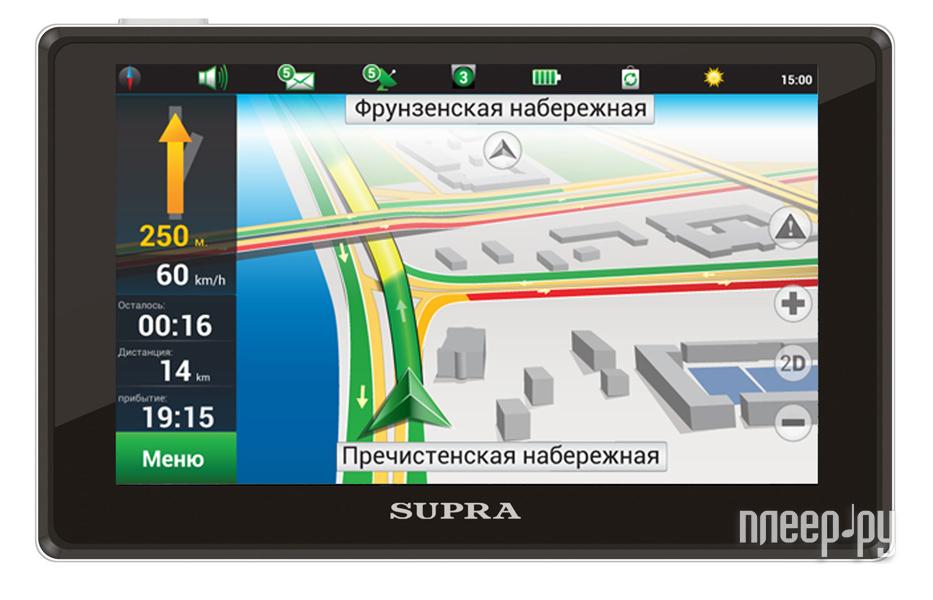 Навигатор SUPRA SNP-511 Навител Навигатор  Pleer.ru  2212.000