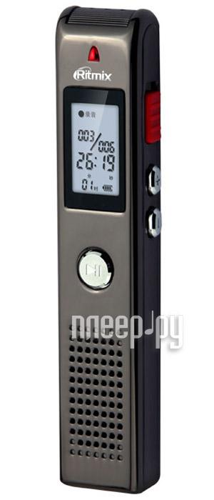 Диктофон Ritmix RR-100 - 4Gb  Pleer.ru  1359.000