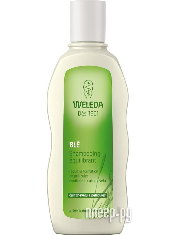 Средство по уходу за волосами Weleda шампунь от перхоти с экстрактом пшеницы 190 мл 9557  Pleer.ru  474.000