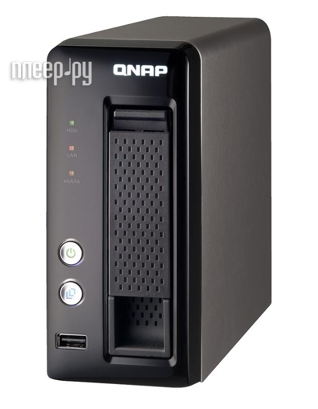 Сетевое хранилище QNAP TS-119P+  Pleer.ru  8470.000